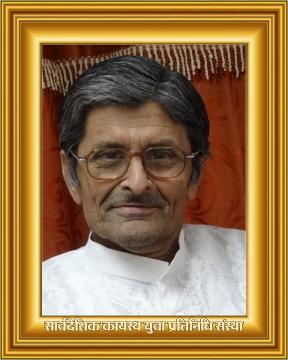 स्वर्गीय श्री शरद श्रीवास्तव
